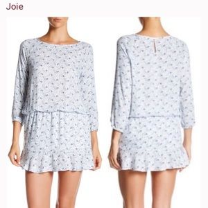 Joie soft floral dress size small